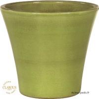Pot émaillé en terre cuite, bac à fleurs BLAGNAC 48cm, Clarous, achat