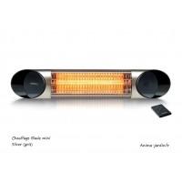 Chauffage infrarouge, intérieur, extérieur, Fargau, Blade Mini