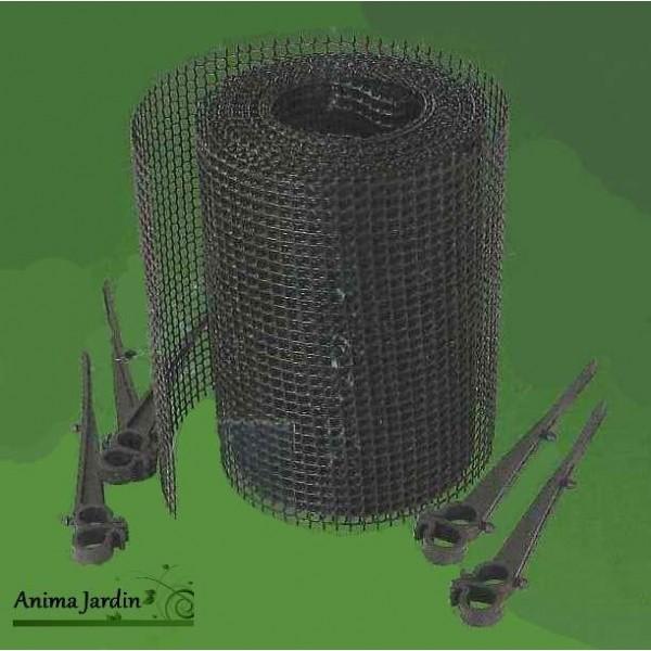 Protection pour goutti re grillage pvc solide anti feuilles mortes nort ne - Gouttiere feuilles mortes ...