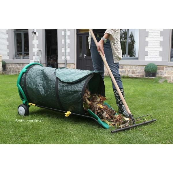Chariot Poubelle De Jardin Ramasse Feuilles Pas Cher Pliable