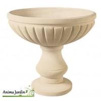Vasque renaissance 76 cm, pierre reconstituée, coupe, contenant, achat