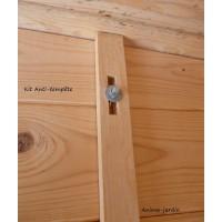 Kit Anti-tempête en bois pour Abri de jardin, solid, achat/vente