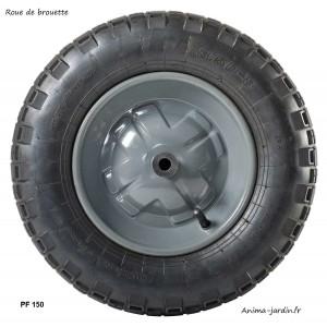 Roue de Brouette gonflée, 38 cm, roue de rechange, achat/vente