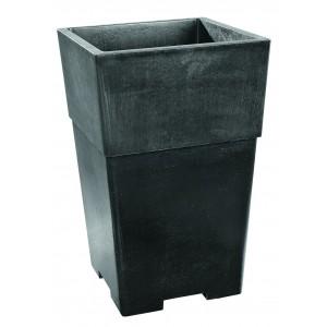Bac vase pot carr en b ton cir grandon 295 achat vente for Bac en beton jardin