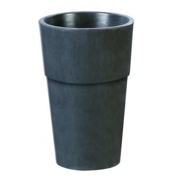 Bac vase pot rond en b ton cir grandon 294 for Grande jardiniere beton