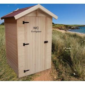 Toilettes sèches en bois avec sciure, équipé lave mains, achat/vente