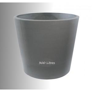 Grand Pot en béton préssé Diam-90cm, gros volume, achat/vente