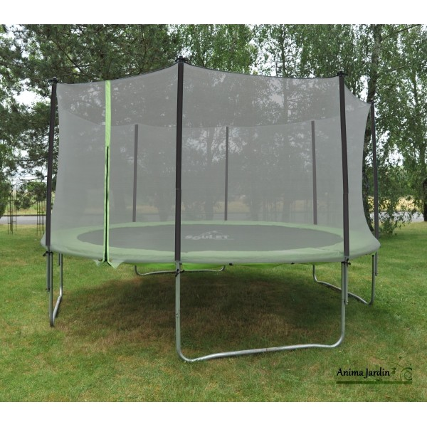 trampoline enfant avec protection filet 365cm jeux de jardin pas cher. Black Bedroom Furniture Sets. Home Design Ideas