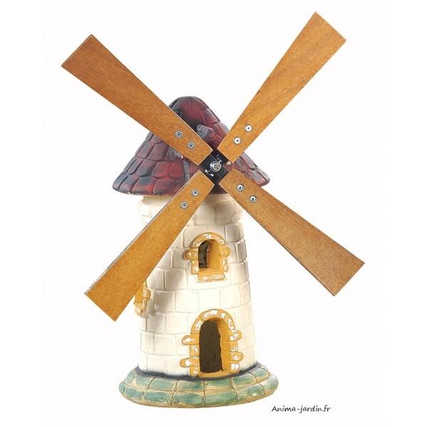 moulin de jardin tuile d coration de jardin 56cm achat