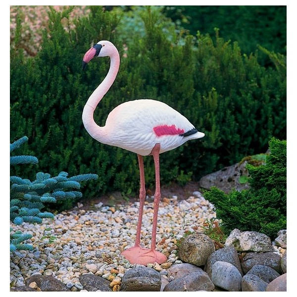 flamant rose 90 cm en plastique ubbink oiseau migrateur. Black Bedroom Furniture Sets. Home Design Ideas