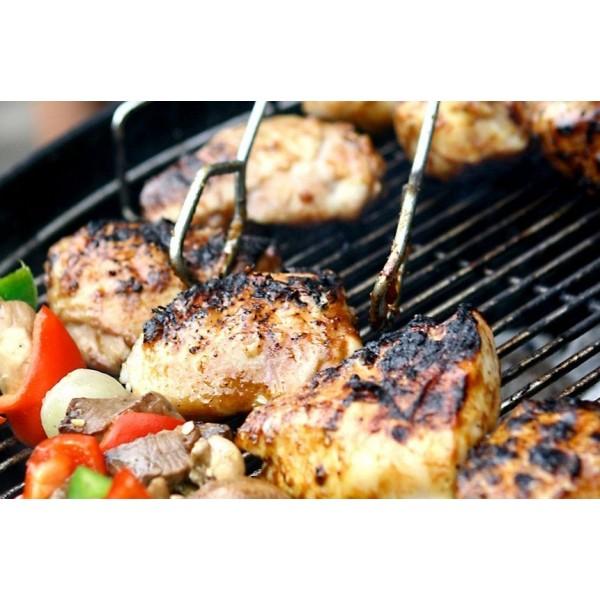 Grille barbecue 62 x 35 cm, grille simple de cuisson en