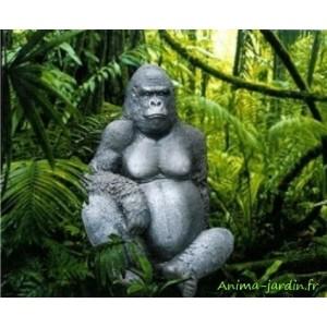 Grand Gorille en résine, 115cm, animal sauvage, achat/vente, jungle