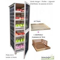Grand Légumier fruitier, distributeur pommes de terre, 150cm, achat, masy, 240