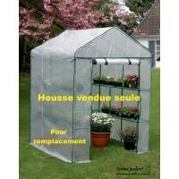 Housse de Serre jardin 2 m², Greenseason 4 Nortène, bâche vendue seule