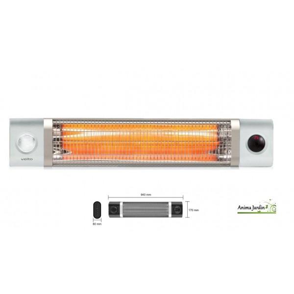 Chauffage infrarouge, intérieur, extérieur, OMEGA 2500 , Fargau, pas ...