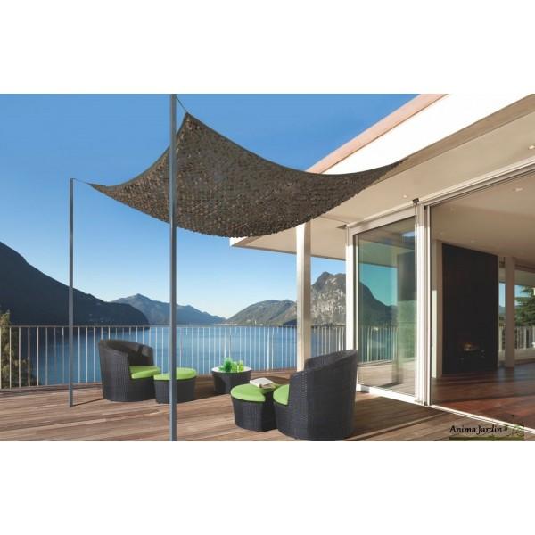 voile d ombrage pour balcon voile d ombrage pas cher gifi. Black Bedroom Furniture Sets. Home Design Ideas