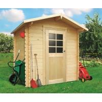 Abri de jardin en bois 19mm, Essen, 3.92m², Solid, achat/vente