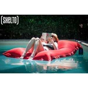 Grand Coussin piscine, pouf 125x175 cm, Shelto, pas cher, achat