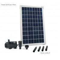 Pompe à eau panneau solaire pour bassin, SOLARMAX 600 Ubbink, pas cher