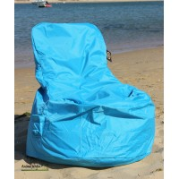 Fauteuil Sitinchair, bord de piscine, pouf, billes polystyrène, achat pas cher
