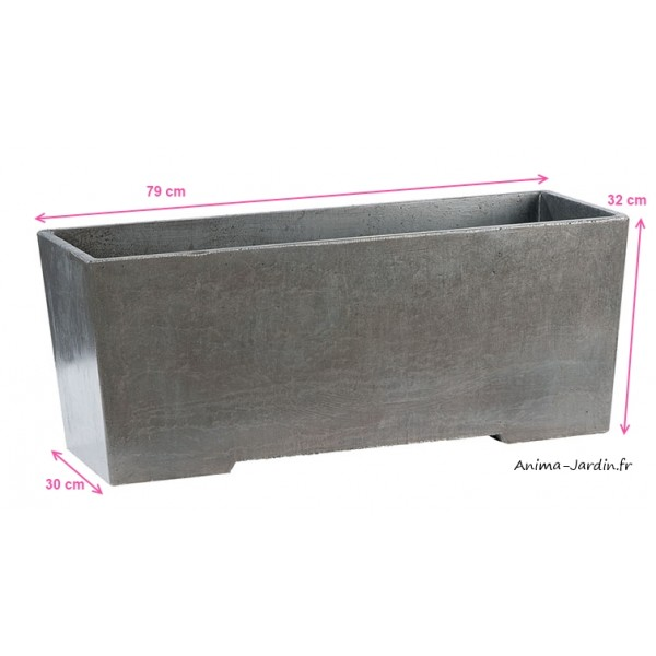 bac jardini re en b ton cir grandon 286 achat vente. Black Bedroom Furniture Sets. Home Design Ideas