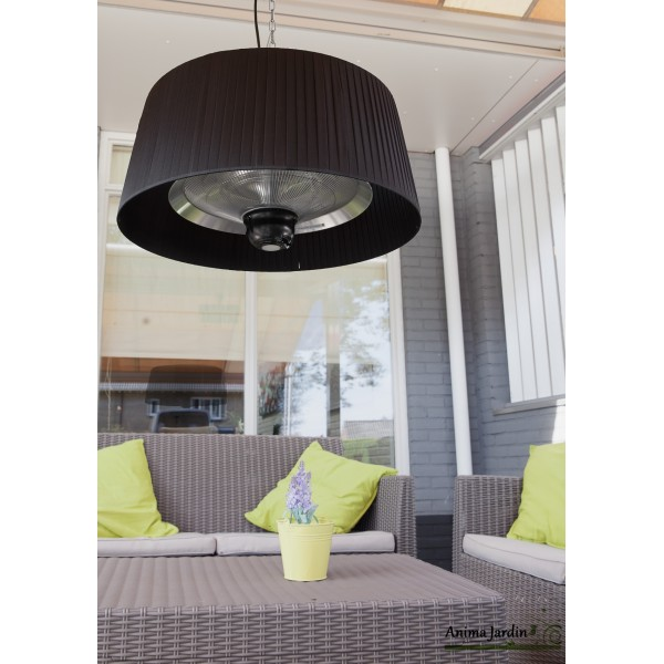 chauffage pour terrasse int rieur ext rieur lustre chauffant plaza light. Black Bedroom Furniture Sets. Home Design Ideas