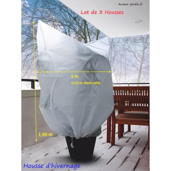 housse hivernage plantes x3 protection contre le froid nort ne hiverscratch. Black Bedroom Furniture Sets. Home Design Ideas
