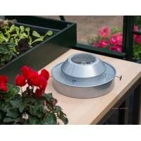 Chauffage à la paraffine pour serre de jardin-balcon 2m², antigel, à poser, pas cher