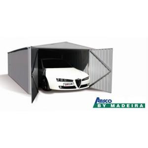 Garage Métal Madeira 1voiture, Mackay, double portes, remorque, rangement