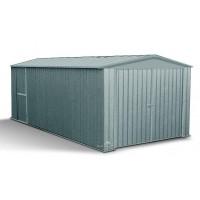 Garage Métal gris Madeira 13,44 m²  MELTON, voiture, remorque, rangement, pas cher