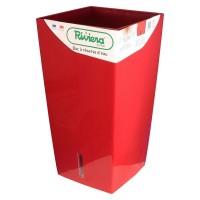 Bac, pot, à reserve d'eau RIVIERA carré EVA new 69 cm achat/vente
