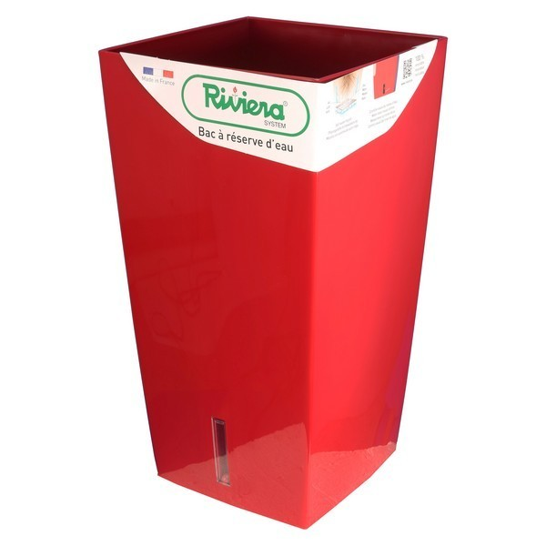 bac pot reserve d eau riviera carr eva new 69 cm. Black Bedroom Furniture Sets. Home Design Ideas