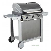 Barbecue Gaz FIESTA 3 TITANE (3 brûleurs) garden max
