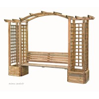 tuteur support plante arche pergola treillage croisillons anima jardin. Black Bedroom Furniture Sets. Home Design Ideas