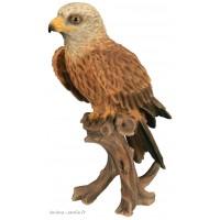 Milan Royal, 36 cm en résine, animal, rapace, oiseau, déco de jardin, Riviera, Escoufle