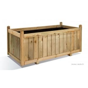 Jardinière, 120 cm, Vendôme, bois autoclave, bac à fleurs, plantes, pas cher, achat/vente