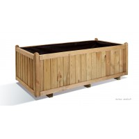 Grande jardinière, 140 cm, Vendôme, bois autoclave, bac à fleurs, plantes, pas cher, achat