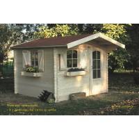 Abri de jardin en bois 40mm, Chamonix, 1 porte, solid, pas cher, habitable, achat