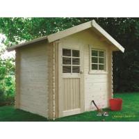 Abri de jardin en bois 28mm, Laval, 1 porte, Solid, pas cher, achat, vente