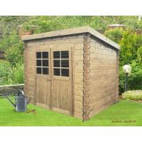 Abri de jardin en bois 19mm, Stendal, 4m², 2 portes, Solid, pas cher, achat, vente