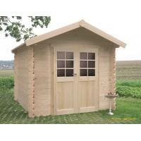 Petit abri de jardin en bois 28mm, Nîmes, 5 m², 2 portes, Solid, pas cher, achat