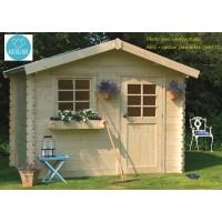 Abri de jardin en bois traité autoclave 28mm, Sologne, 8 m², 1 porte, Solid, pas cher, achat, vente