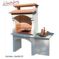 Barbecue en pierre, Bugey, pas cher, charbon de bois, tuile, LIB, Grandon, achat