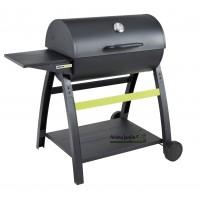 Barbecue à charbon de bois Tonino 1, sur roues, noir, cookin garden, achat, vente