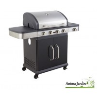 Barbecue à gaz, Fidgi, 4 brûleurs, barbecue américain, plancha, achat, vente, pas cher