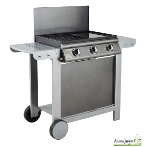 Barbecue au gaz, Puerta Luna, 3 brûleurs, barbecue australien, achat, vente, pas cher