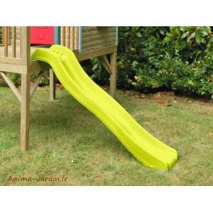 Toboggan, glissière, vert, 178 cm, jeux, enfants, pas cher, Soulet, achat
