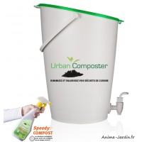 Composteur de cuisine, kit urban composter, 15L, compostage, Graf, achat, pas cher