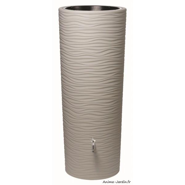 r cup rateur d 39 eau de pluie 350l natura 2 en 1 avec bac. Black Bedroom Furniture Sets. Home Design Ideas