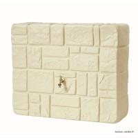 Récupérateur d'eau de pluie, imitation pierre, Kit brick murale, 300L, Graf, achat, pas cher